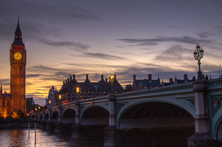 Westminster Bridge At Dusk. | by Fieldy.