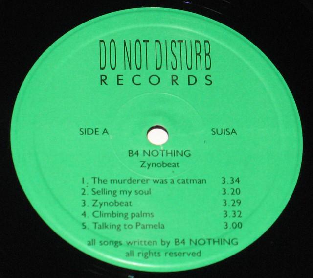 B4 Nothing - Zynobeat
