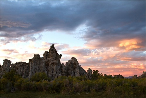 Sunset on the Tufa | by Jill Clardy
