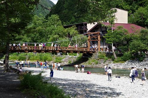 Kappa-bashi bridge河童橋 Kamikochi 2016 summer 65