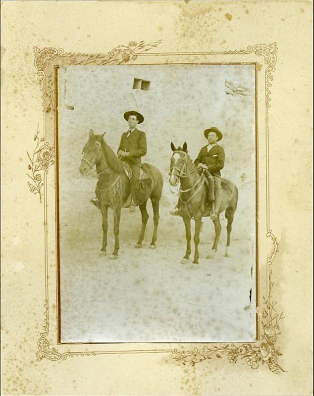 Año- 1908. Propietario- Godofredo Giménez Esparcia yegua del niño del Arahal