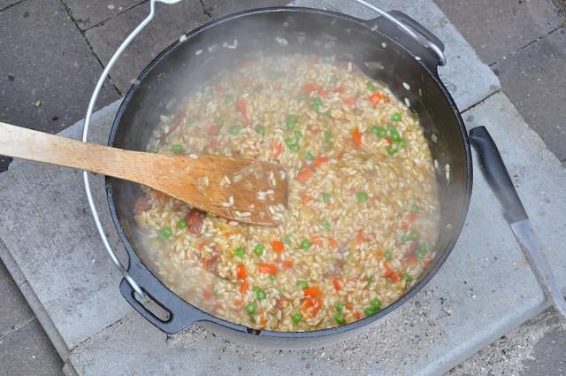 Paella, fast fertig