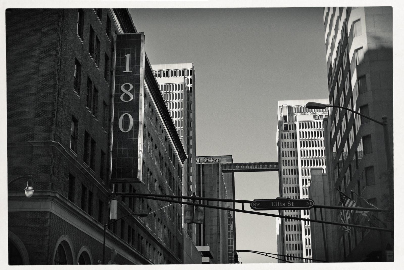 Peachtree Street and Ellis, Atlanta, GA