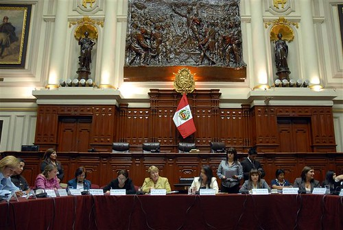 UN Women Executive Director Michelle Bachelet visits Peru's Congress to meet with women leaders from various political parties. Photo credit: UN Women/Anibal Solimano | by UN Women Gallery