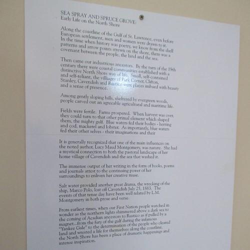 History, 2 #pei #cavendish #avonleavillage #longriverchurch #latergram