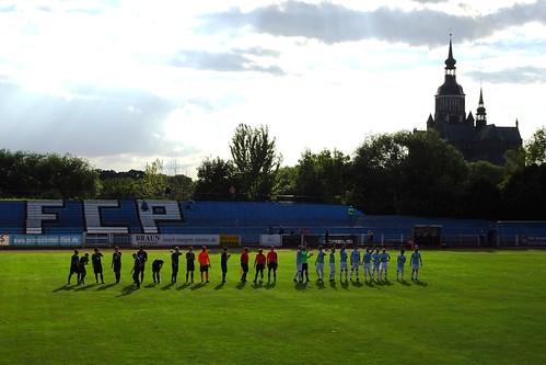 Pommern Stralsund 0:3 Förderkader Rene Schneider (Rostock)