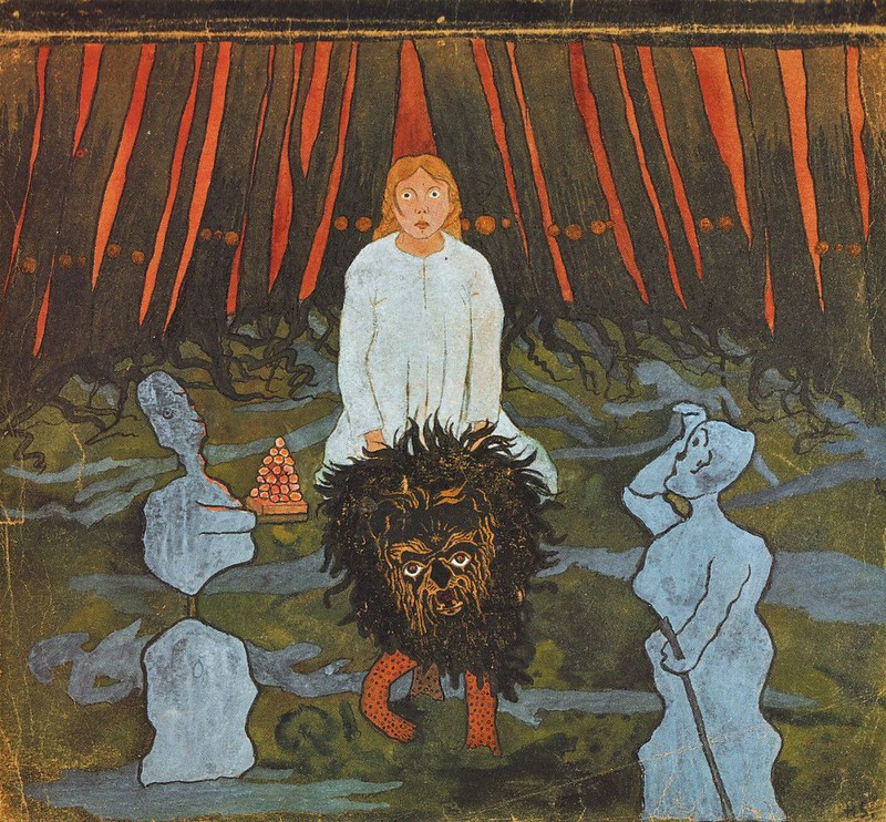 Hugo Simberg - Fairy Tale 2, 1896