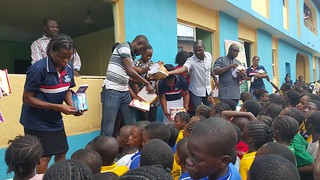 Juanita Bumphus Clothing and Toy Distribution in Lagos, Nigeria