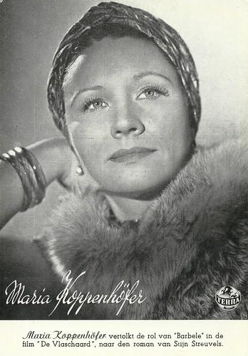 Maria Koppenhöfer in De Vlaschaard (1943)