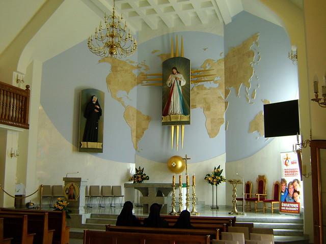 Sanktuarium s. Faustyny