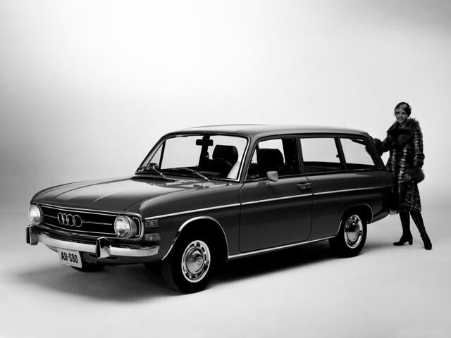 Универсал Audi Super 90 Wagon для рынка США. 1970 – 1972 годы