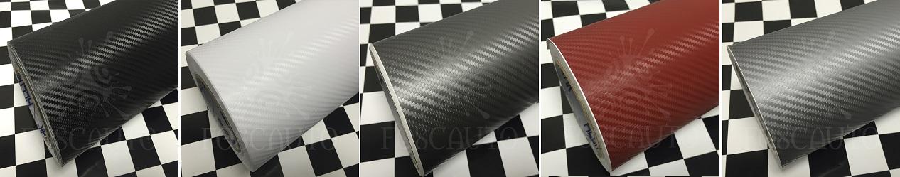 Adesivo Fibra de Carbono Vermelho Branco Preto Chumbo Grafite Prata - Foscauto Adesivos