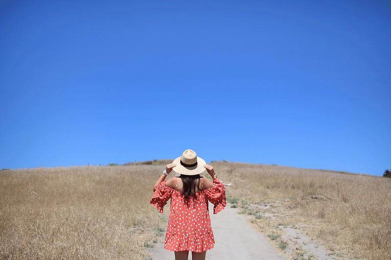 simplyxclassic, tularosa, revolve, polkadot dress, summer