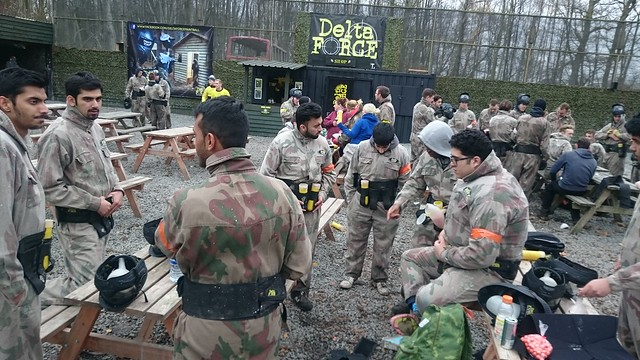 Paintballing & End of Year Retreat 2015-16