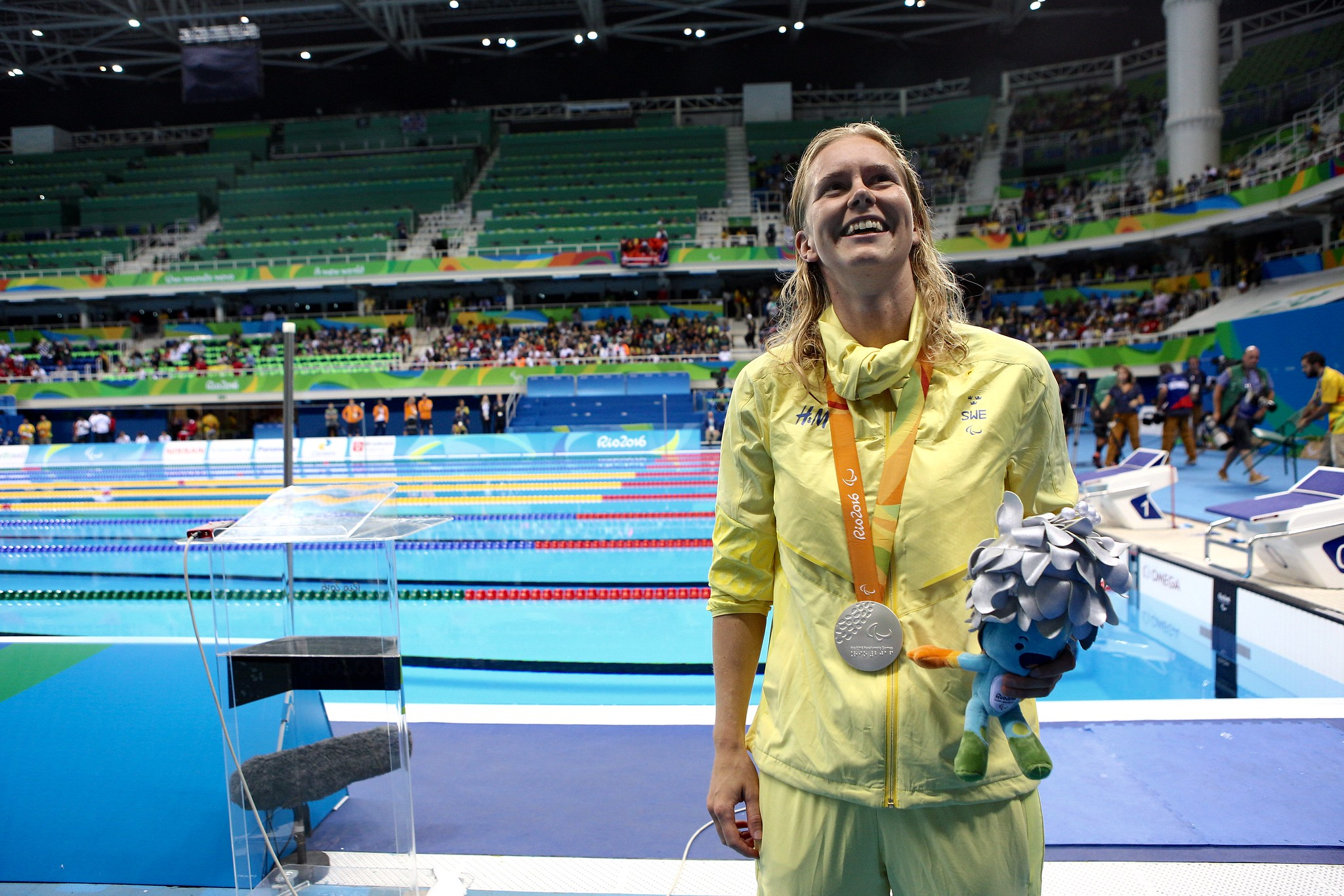 Maja Reichard - Swimming - Women's 200m medley s11 Silver medal - Paralympics Rio 2016