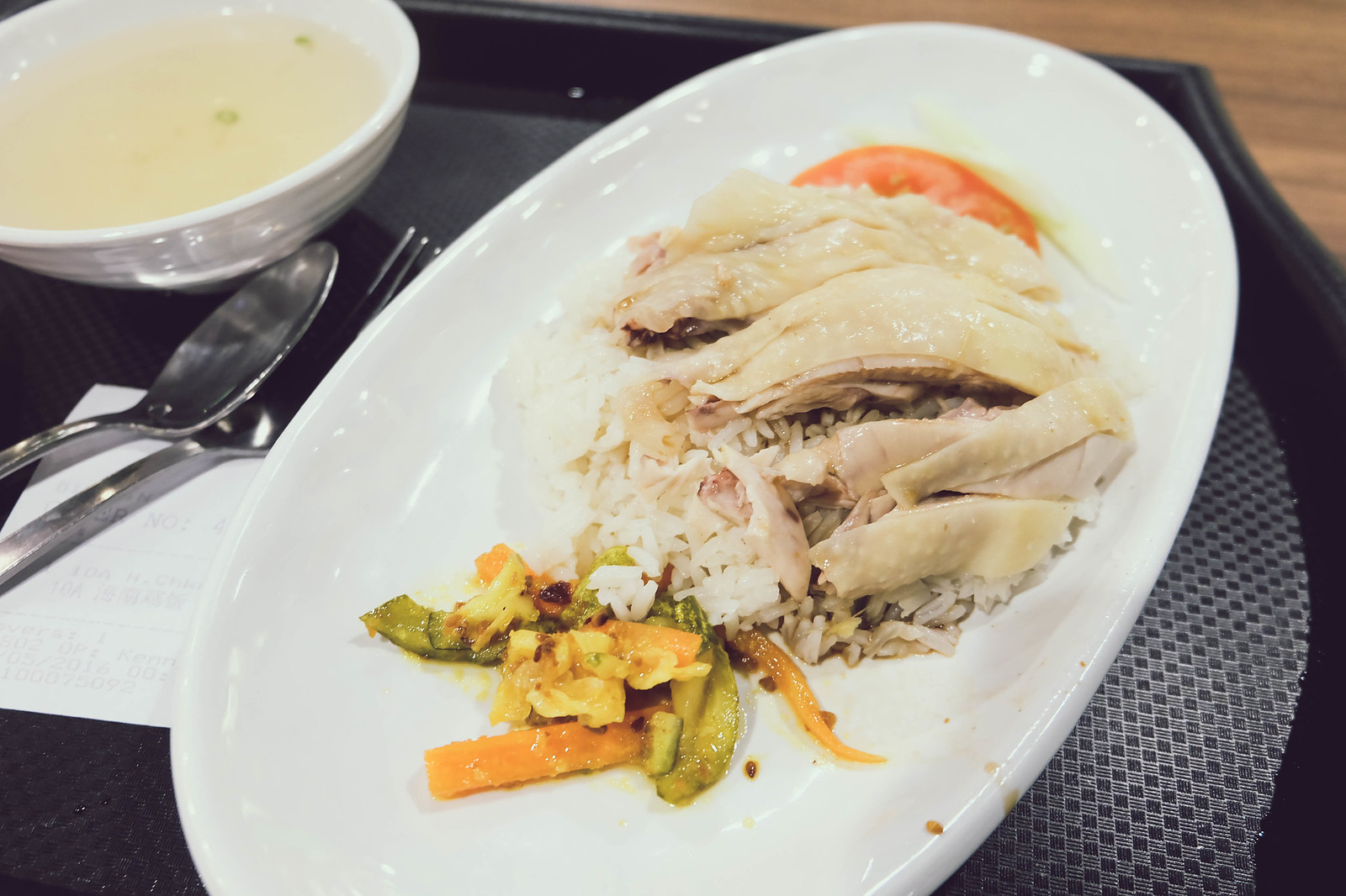 haninanese chicken rice changi airport