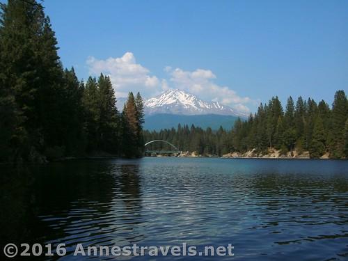 Mt. Shasta from Siskayou Lake, California