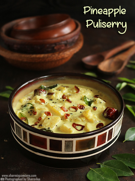 Pineapple Puliserry Recipe