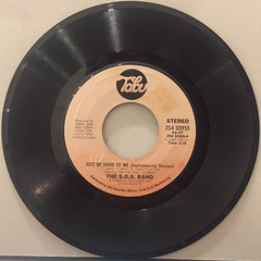 THE S.O.S. BAND:JUST BE GOOD TO ME(RECORD SIDE-B)