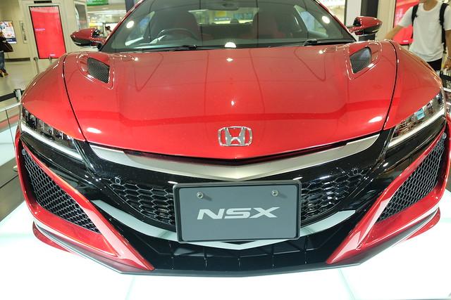 Honda NSX Valencia red pearl 01