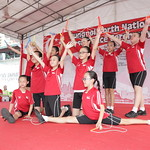 9 August - Punggol North National Day Observance Ceremony - Rope Skipping Performance