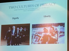 Two cultures of privacy