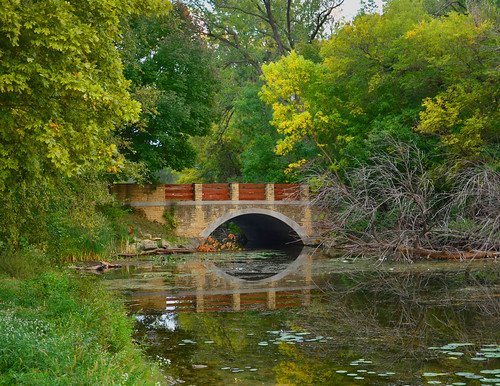 Stone bridge into UW-Madison Arboretum 09-21-2012 347