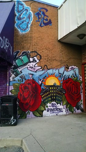 Art in the Park(ing Lot) Murals