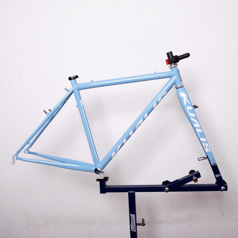 Kualis Cycles Frame & Enve Fork Repainted by Swamp Things