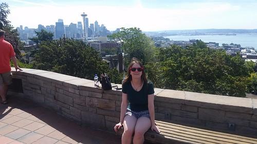 Kerry Park Portrait Seattle