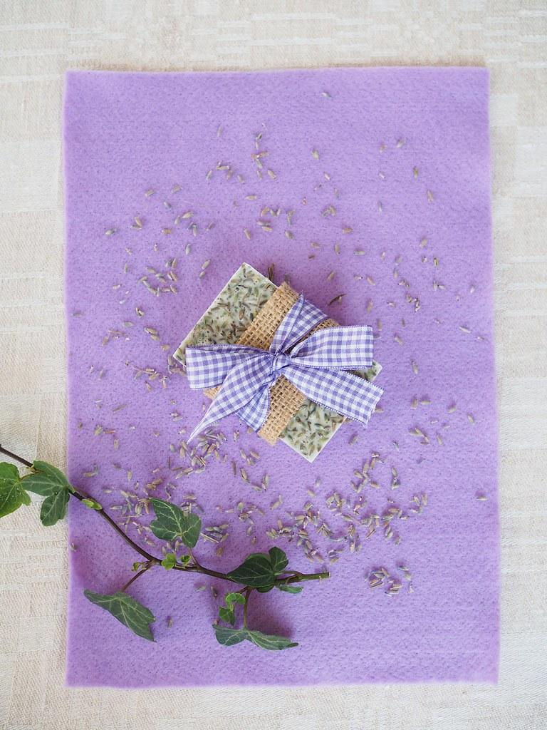 diy laventelisaippua