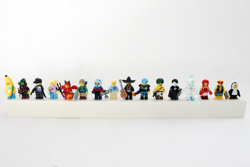 Brick Innovations Minifigure Shelf