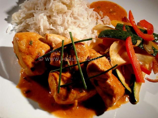 Poulet au Curry Rouge Thaï & Légumes Sautés © Ana Luthi Tous droits réservés 06