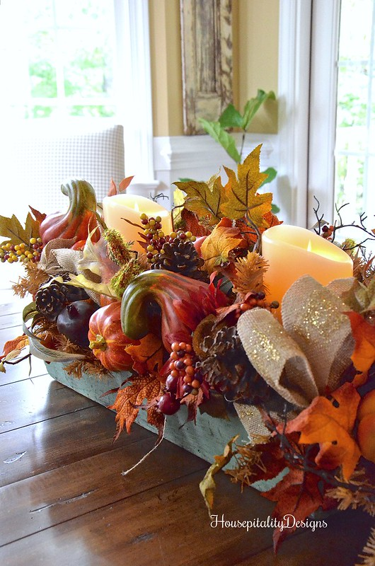 Balsam Hill Fall Harvest Garland - Vintage Tool Box - Housepitality Designs