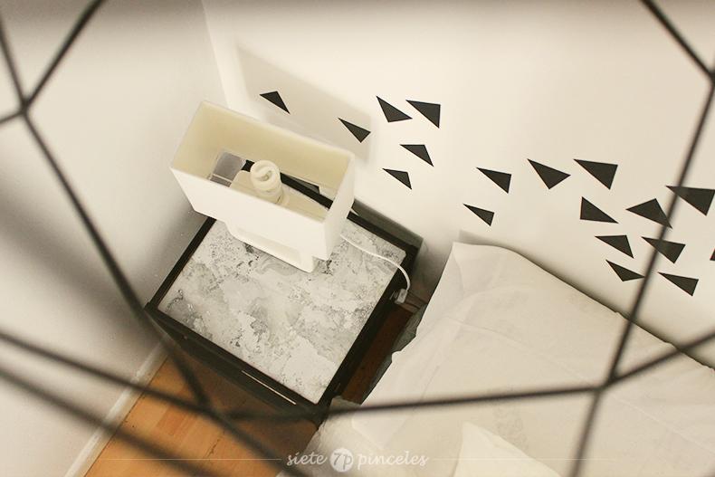mesita nesna ikea papel marmolado