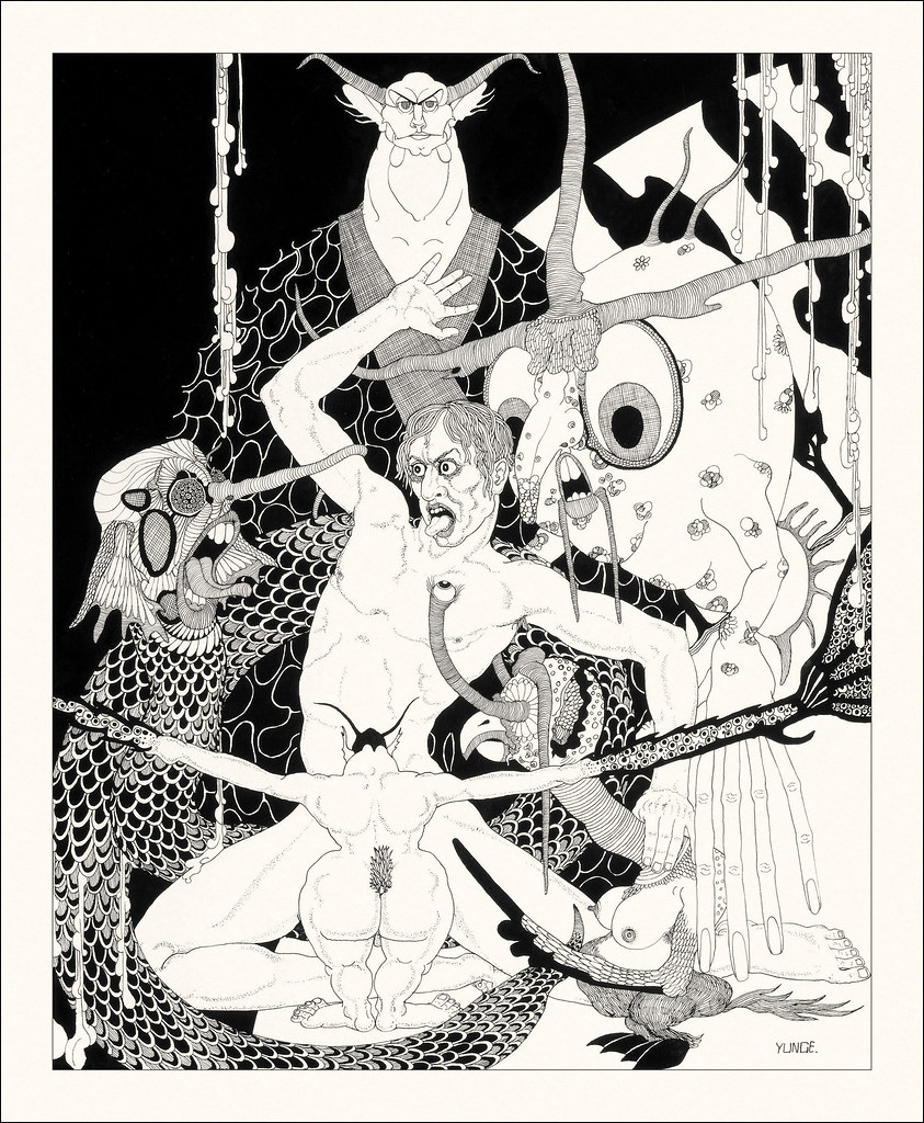 John Yunge Bateman - Illustration from King Lear - Act IV, Scene 1, 1930