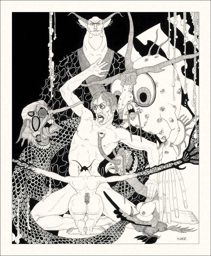 John Yunge Bateman - Illustration from King Lear - Act IV, Scene 1, 1930