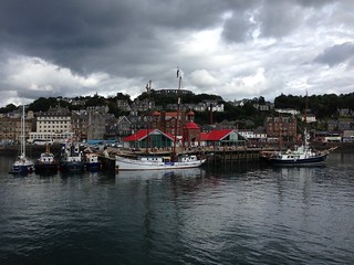 Arriving in Oban