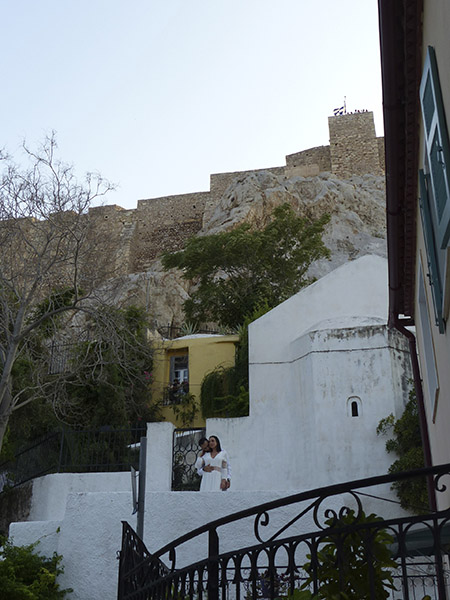 l'église sous l'acropole