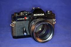 Konica Autoreflex T3N w 57mm f1.2 lens