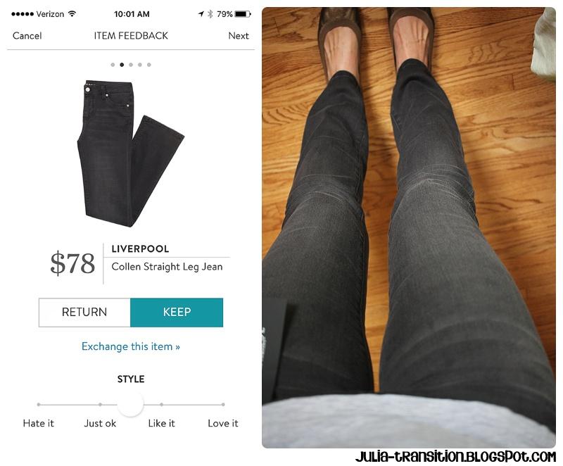 Liverpool Colleen Straight Leg Jean   $78