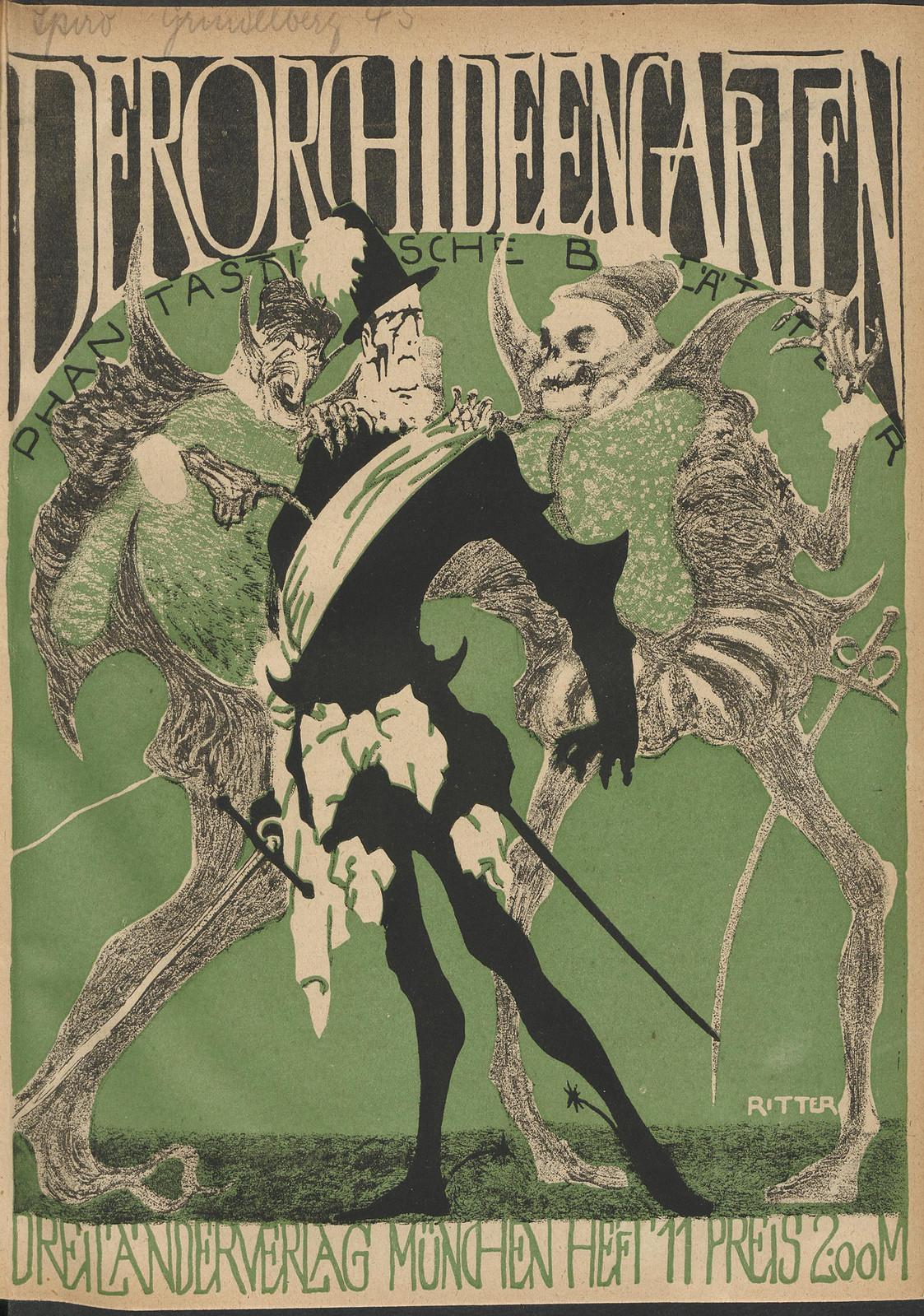 Der Orchideengarten - 1920 (Cover 11)