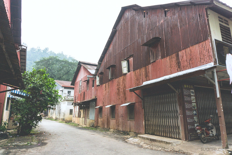 Sungai Lembing, Pahang - red zinc houses