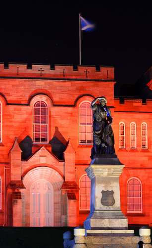 Light Up Scotland / World AIDS Day 2015