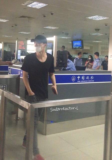 160819 Lay at Shanghai and Gimpo Airport