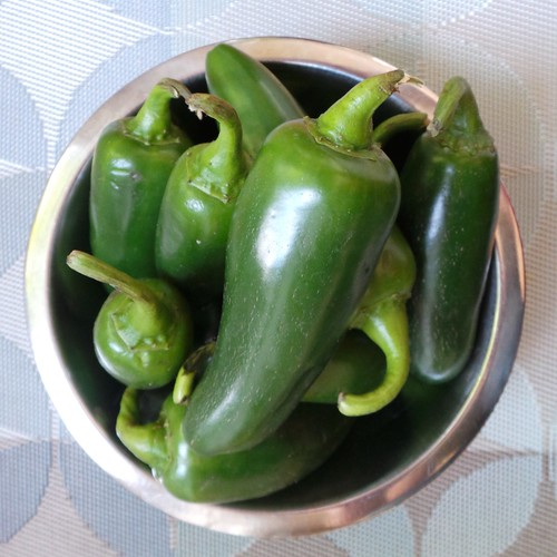 Bowl o' jalpeno peppers