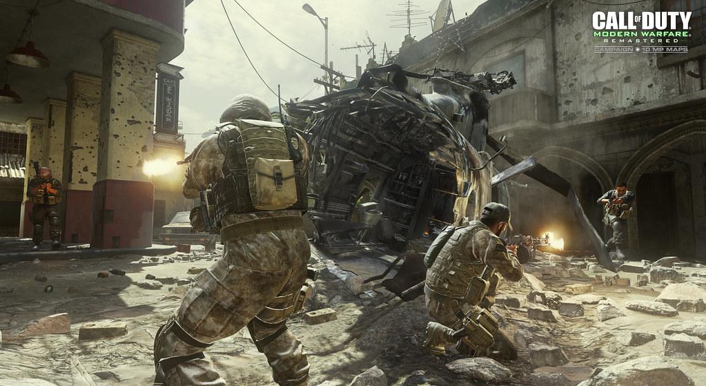 Call of Duty Modern Warfare Remastered Multiplayer