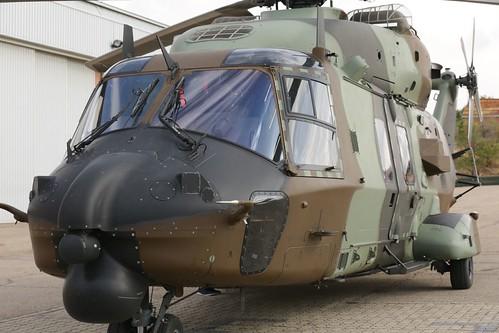Recepción de los dos primeros helicópteros HT-29 Caimán (4)