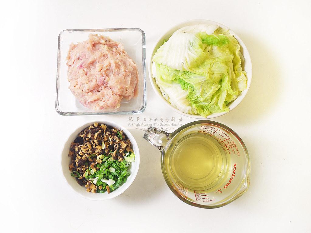 孤身廚房-大潤發義大利樂鍋史蒂娜湯鍋試用—日式白菜雞肉捲8