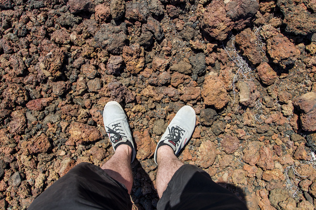 Volcanic ash - Tenerife Island